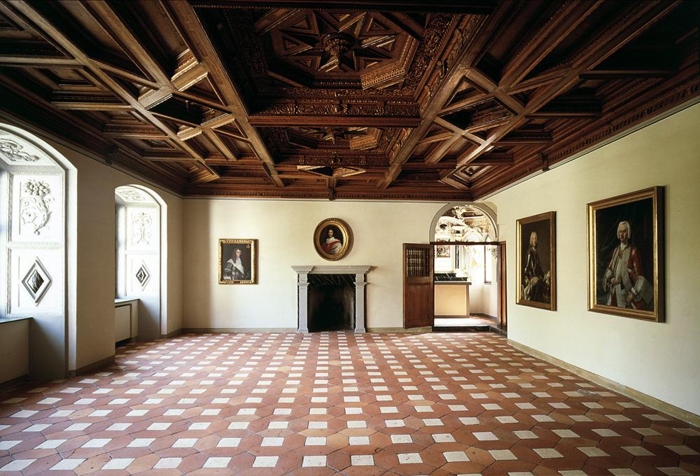 Rittersaal im Freulerpalast
